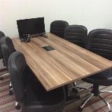 escritório com sala de reunião Parque São Bento