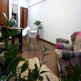 espaço para reunião com televisão Jardim García