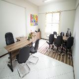 espaço para reuniões para coworking na Nova Aparecida