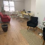 espaços para reuniões para treinamentos Jardim Roselia